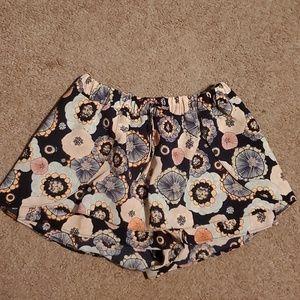 Zara floral Skort XS